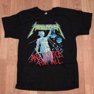 Metallica graphic t-shirt